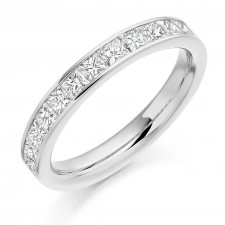 DIAMOND HALF ETERNITY RING HET2107