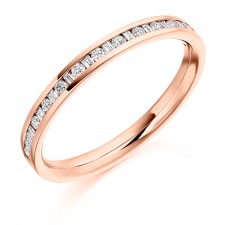 DIAMOND HALF ETERNITY RING HET2124