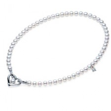 Mikimoto Infinity Heart Pearl Necklace