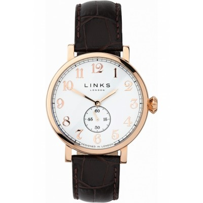 Links of London Greenwich Gold Plated Strap Watch