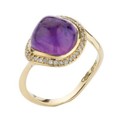 Sale Links of London Infinite Love Amethyst Ring 5045.4068
