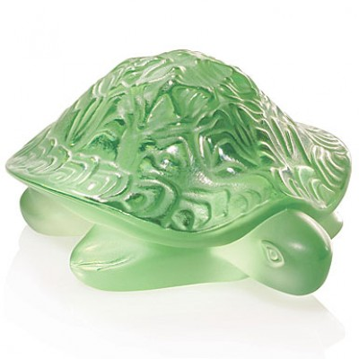 Lalique - Sidonie Turtle Sculpture