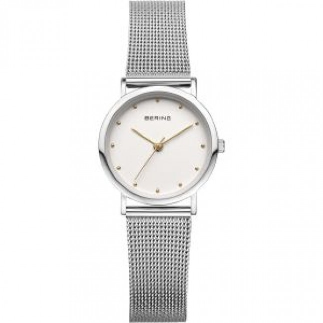 BERING CLASSIC COLLECTION WOMEN'S WATCH MILANESE SILVER