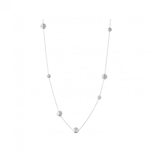 Links of London - Thames Sterling Silver Long Station Necklace 5020.3246