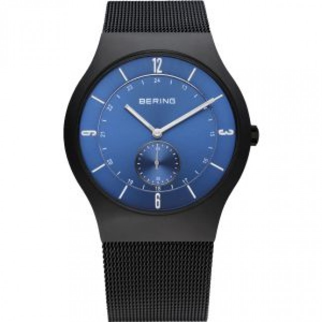 BERING CLASSIC COLLECTION MEN'S WATCH MILANESE BLACK