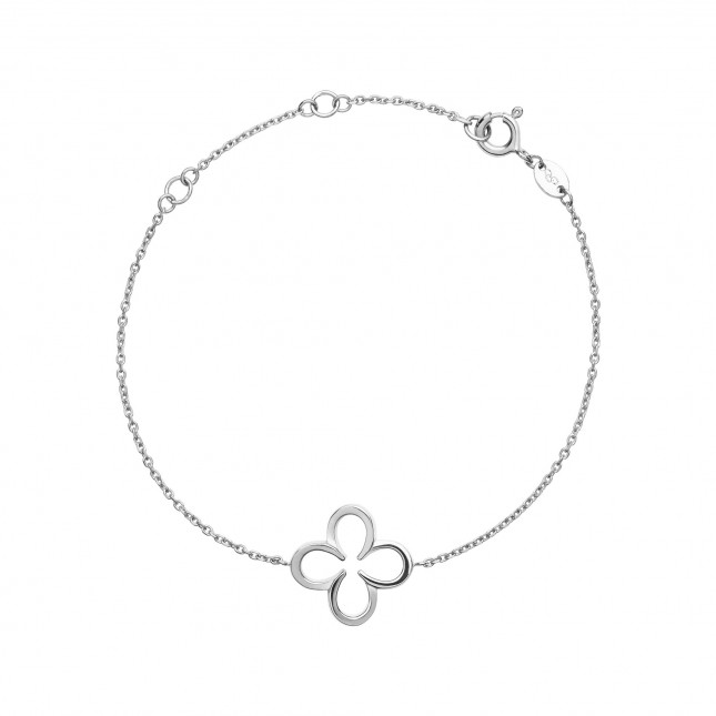 Links of London - Ascot Sterling Silver Lucky Clover and Horseshoe Bracelet