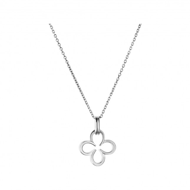 Links of London - Ascot Sterling Silver Lucky Clover and Horseshoe Necklace