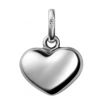 Links of London - Sterling Silver Chubby Heart Charm