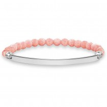 THOMAS SABO Love Bridge Coral Bracelet