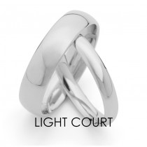 Light Court Wedding Ring