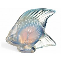 Lalique - Opalescent Luster Fish Sculpture