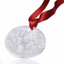 LALIQUE - 2019 REINDEER CHRISTMAS ORNAMENT, CLEAR