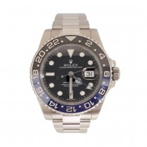 "PRE OWNED ROLEX GMT MASTER II ""BATMAN"""