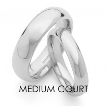 Medium Court Wedding Ring