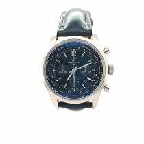 PRE OWNED BREITLING TRANSOCEAN UNITIME PILOT