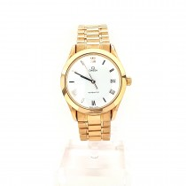 PRE OWNED GENTS OMEGA  AUTOMATIC 18ct GOLD