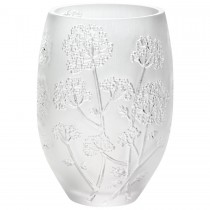 LALIQUE - OMBELLES VASE MEDIUM SIZE