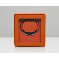 Wolf - Watch Winder 'Cub' with Cover, Orange
