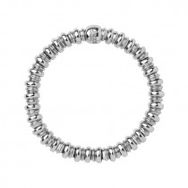 Links of London - Sweetheart Sterling Silver Bracelet (Large) 5010.3450