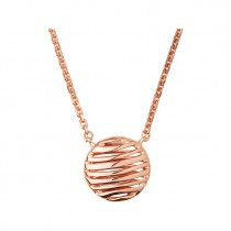 Links of London - Thames 18kt Rose Gold Vermeil Necklace. 5020.3250