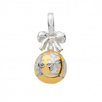 Links of London - Sterling Silver & 18kt Yellow Gold Vermeil Star Bauble Charm