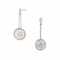 Links of London - Dream Catcher Bi-Metal Drop Earrings 5040.2225