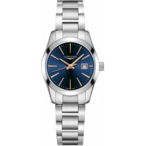 Sale LONGINES CONQUEST CLASSIC 29.50MM BLUE DIAL STAINLESS STEEL