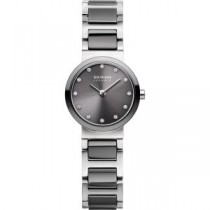 BERING CERAMIC COLLECTION WOMEN'S WATCH STAINLESS STEEL SILVER