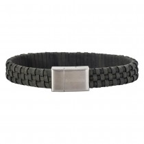 SON OF NOA bracelet grey calf leather 21cm 12mm