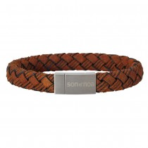 Son Of Noa bracelet brown calf leather 19cm 10mm