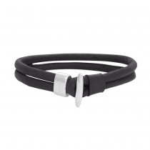 SON OF NOA bracelet black calf leather 21cm