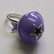 Purple Tinkerbelle charm, by Molly Brown.