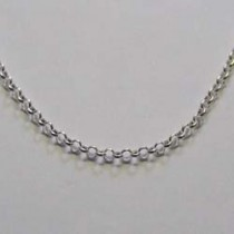 Sterling silver chain, by Molly Brown.
