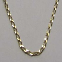 Lalique, gold plated chain necklace.