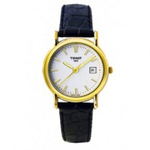 Tissot Carson Womens 18-CARAT GOLD Quartz Watch T71312911
