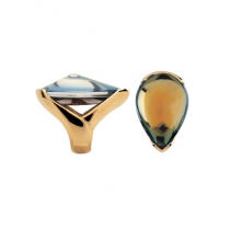 Sale Baccarat - Psydelic Scarabee 18ct Yellow Gold Ring