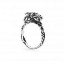 Trollbeads - Strand of Lights Ring Size 53. TAGRI-00303
