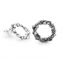 Trollbeads - Blueberries of Youth Studs. TAGEA-00074