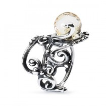 Trollbeads - Citrine Facet Ring (Size 53) TAGRI-00363