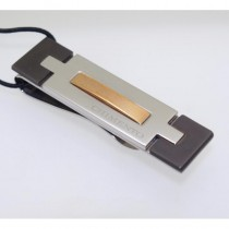 Chimento Uomo Stainless Steel Money Clip