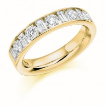 DIAMOND HALF ETERNITY RING HET1144