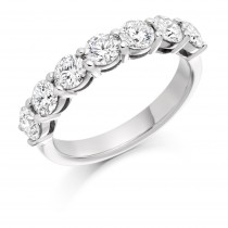 DIAMOND HALF ETERNITY RING HET1826