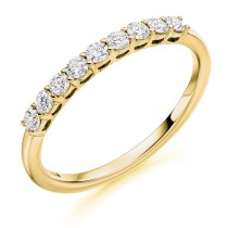 DIAMOND HALF ETERNITY RING HET2982