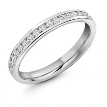 DIAMOND HALF ETERNITY/WEDDING RING HET8603