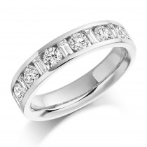 DIAMOND HALF ETERNITY RING HET910