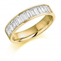 DIAMOND HALF ETERNITY RING HET927