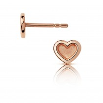 Links of London - Endless Love 18kt Rose Gold Vermeil Stud Earrings