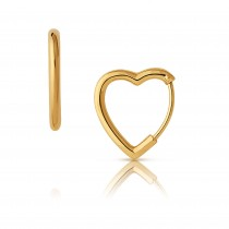Links of London - Endless Love 18kt Yellow Gold Vermeil Mini Hoop Earrings