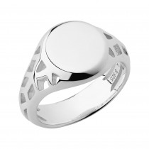 Links of London - Timeless Sterling Silver Signet Ring. 5045.6763